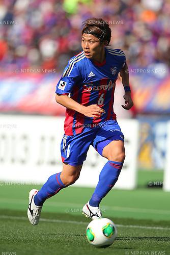 Kosuke Ota (FC Tokyo), MARCH 9, 2013 - Football / Soccer : 2013 J.LEAGUE Division 1 match between FC Tokyo 3-0 Kashiwa Reysol at Ajinomoto Stadium, Tokyo, Japan. (Photo by AFLO SPORT) [1156].