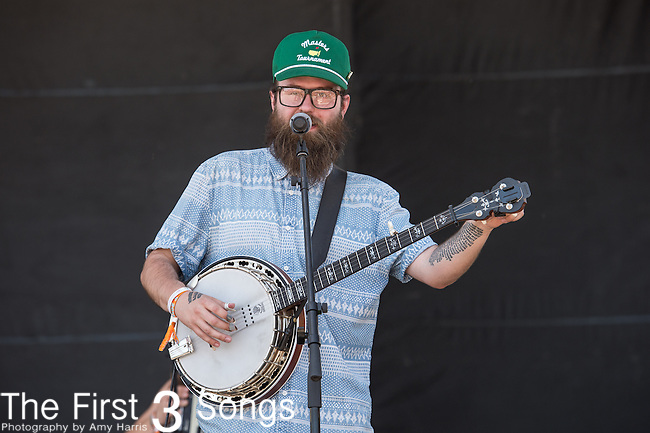 Nate Zuercher of Judah & The Lion performs onstage during The Tortuga Music Festival in Fort Lauderdale, Florida.