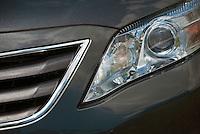 Toyota, Auto, Front Grill, Headlights, Close up, Car, Dark Grey, Auto, Automobile, Transportation,