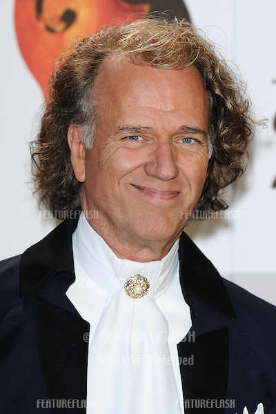 Andre Rieu arriving for the Classic Brit Awards 2012 at the Royal Albert Hall, London. 02/10/2012 Picture by: Steve Vas / Featureflash