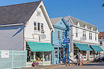 Village shops in Northeast Harbor, Maine, USA