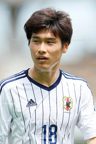Daiki Hashioka (JPN), <br /> APRIL 18, 2017 - Football / Soccer : <br /> U-20 Japan National team training match <br /> between U-20 - JEF United Chiba <br /> in Chiba, Japan. <br /> (Photo by Yohei Osada/AFLO SPORT)