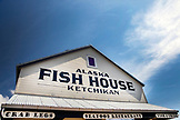 ALASKA, Ketchikan, outside of the Alaska Fishouse