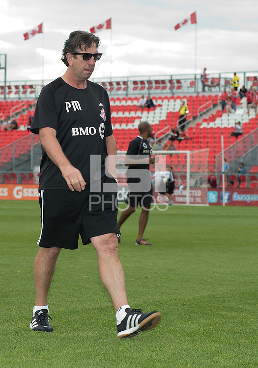 15 September 2012: Toronto FC head coach Paul Mariner after the warm-up in an MLS game between the Philadelphia Union and Toronto FC at BMO Field in Toronto, Ontario..The game ended in a 1-1 draw..