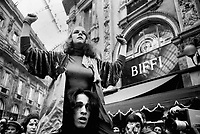 - a performance of the Living Theater in Vittorio Emanuele II gallery (Milan, 1975)<br />