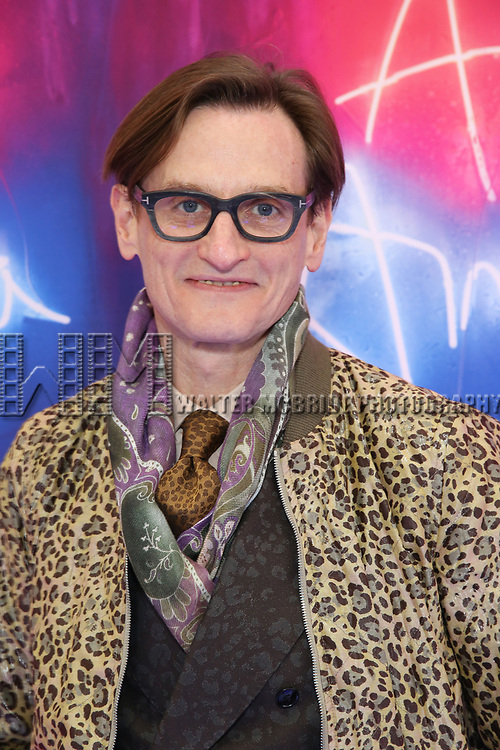 """Hamish Bowles attends the Broadway Opening Night Arrivals for """"Angels In America"""" - Part One and Part Two at the Neil Simon Theatre on March 25, 2018 in New York City."""