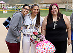 Gabrielle Canibeyaz at the Sophomore Day celebration after the first game of the Western Nevada College softball doubleheader on Saturday, April 30, 2016 at Pete Livermore Sports Complex. Photo by Shannon Litz/Nevada Photo Source