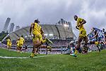 New Zealand vs Australia on Cup Semi Final during the Cathay Pacific / HSBC Hong Kong Sevens at the Hong Kong Stadium on 30 March 2014 in Hong Kong, China. Photo by Juan Flor / Power Sport Images