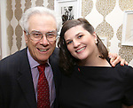 Jeffrey Lyons and Rachel Routh during The DGF's 14th Biannual Madge Evans & Sidney Kingsley Awards at the Dramatists Guild Fund headquarters on April 4, 2016 in New York City.