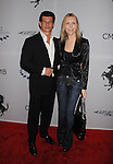 LOS ANGELES, CA. - March 18: Robert Valik and Kristine Grimm arrive at the Ferrari 458 Italia Brings Funds for Haiti Relief event at Fleur de Lys on March 18, 2010 in Los Angeles, California.