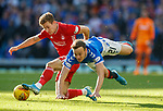 28.09.2018 Rangers v Aberdeen: Jon Gallagher and Brandon Barker