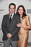 """Tony Shaloub and Jessica Hecht attends the  Broadway Opening Night performance After Party for the Roundabout Theatre Production of """"The Price"""" at the American Airlines TheatreTheatre on March 16, 2017 in New York City."""