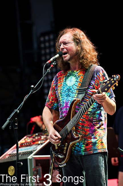 John Kadlecik of Furthur performs during the All Good Music Festival at Legend Valley in Thornville, Ohio.