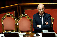 Federico D'Inca'  <br /> Rome September 10th 2019. Senate. Discussion and Trust vote at the new Government. <br /> Foto  Samantha Zucchi Insidefoto
