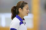 Miyo Ichikawa (Chuden), SEPTEMBER 17, 2013 - Curling : Olympic qualifying Japan Curling Championships Women's Final forth Mach between Fortius 8-5 Chuden at Dogin Curling Studium, Sapporo, Hokkaido, Japan. (Photo by Yusuke Nakanishi/AFLO SPORT)