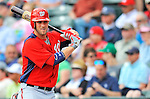 6 March 2012: Washington Nationals outfielder Bryce Harper on deck during a Spring Training game against the Atlanta Braves at Champion Park in Disney's Wide World of Sports Complex, Orlando, Florida. The Nationals defeated the Braves 5-2 in Grapefruit League action. Mandatory Credit: Ed Wolfstein Photo
