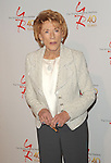 "Jeanne Cooper at the 40th Anniversary of ""The Young and The Restless"" celebrations held at CBS Television City in Los Angeles, CA. March 26, 2013."