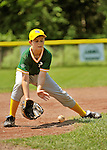 26 May 2012: The Burlington American Athletics in Little League action against the Burlington American Mariners at Calahan Park in Burlington, Vermont. Mandatory Credit: Ed Wolfstein Photo