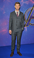 Chris Hemsworth at the &quot;Avengers: Endgame&quot; UK fan event, Picturehouse Central, Corner of Shaftesbury Avenue and Great Windmill Street, London, England, UK, on Wednesday 10th April 2019. <br /> CAP/CAN<br /> &copy;CAN/Capital Pictures