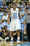 09 November 2012: North Carolina's James Michael McAdoo. The University of North Carolina Tar Heels played the Gardner-Webb University Runnin' Bulldogs at Dean E. Smith Center in Chapel Hill, North Carolina in an NCAA Division I Men's college basketball game. UNC won the game 76-59.