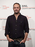 Il regista francese Cédric Kahn posa durante il photocall per la presentazione del suo film 'Fete de famille' alla 14^ Festa del Cinema di Roma all'Aufditorium Parco della Musica di Roma, 25 ottobre 2019.<br /> French director Cédric Kahn poses for a photocall to present his movie 'Fete de famille' during the 14^ Rome Film Fest at Rome's Auditorium, on 25 October 2019.<br /> UPDATE IMAGES PRESS/Isabella Bonotto