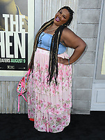 "05 August 2019 - Hollywood, California - Nicole Byer. ""The Kitchen"" Los Angeles Premiere held at TCL Chinese Theatre.  <br /> CAP/ADM/BT<br /> ©BT/ADM/Capital Pictures"