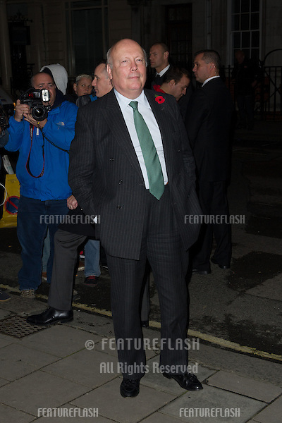 Julian Fellows for the Harper's Bazaar Women of the Year Awards 2013<br /> Claridges Hotel, London. 05/11/2013 Picture by: Dave Norton / Featureflash