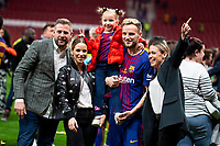 FC Barcelona Ivan Rakitic during King's Cup Finals match between Sevilla FC and FC Barcelona at Wanda Metropolitano in Madrid, Spain. April 21, 2018. (ALTERPHOTOS/Borja B.Hojas)