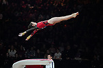 Gymnastics World Cup  23.3.19. World Resorts Arena. Birmingham UK. Leah Griesser (GER) in action