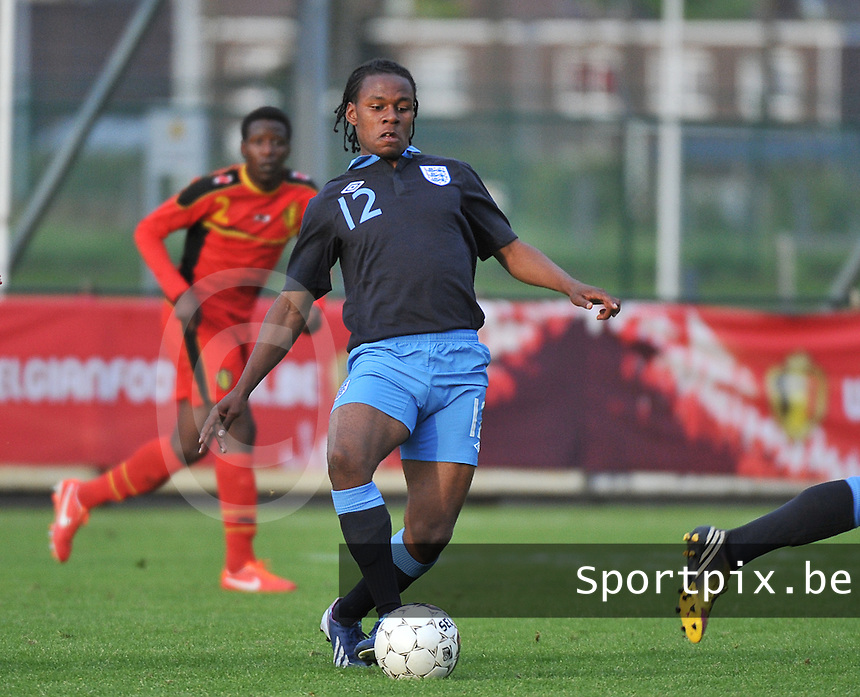 Belgium U19 - England U19 : Shaquile Coulthirst (12).foto DAVID CATRY / Nikonpro.be