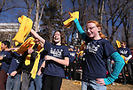 Sierra Nevada Academy students Maryssa Steadman, 11, left, and Zandria Hines, 12, dance with other students at a &quot;Nevada Supports School Choice&quot; rally in support of educational choices on the Capitol grounds in Carson City, Nev., on Wednesday, Jan. 28, 2015.<br /> Photo by Cathleen Allison