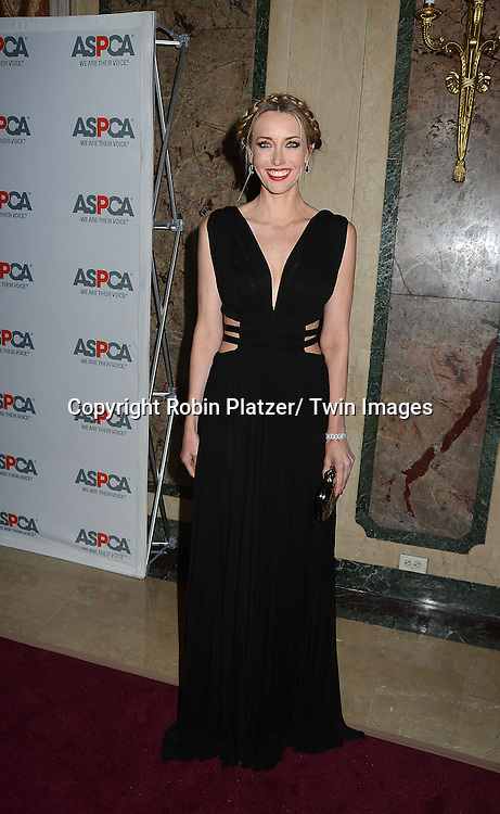 Melanie Lazenby attends the 16th Annual ASPCA Bergh Ball on April 11, 2013 at The Plaza Hotel in New York City.
