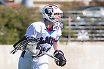 Los Angeles, CA 03/12/16 - Paul Naimo (Loyola Marymount #31) in action during the Utah State vs Loyola Marymount MCLA Men's Division I game at Leavey Field at LMU.  Utah State defeated LMU 17-4.