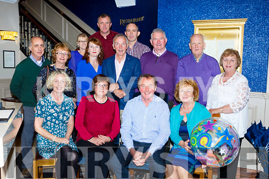 Michael O'Sullivan Adrigole, Beara seated centre celebrated his 60th birthday with his family and friends in Lord Kenmares restaurant on Saturday
