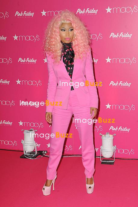 "Nicki Minaj at the launch of her new fragrance, ""Pink Friday"" in New York City. New York, November 20, 2012."