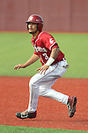 Trace Tam Sing takes a lead off of first base during the Pac-12 Conference tilt between the Washington State Cougars and the Arizona State Sun Devils at Bailey-Brayton Field in Pullman, Washington, on May 24, 2014.  The Cougars defeated the 21st ranked Sun Devils, 10-7.