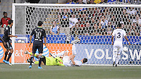 MLS All-Stars forward Chris Wondolowski (8) scores his goal in the 21th minute of the game. The MLS All Stars Team defeated Chelsea FC 3-2 at PPL Park Stadium, Wednesday 25, 2012.