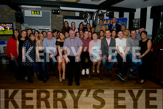 Sean Mc Sweeney from Knocknagree celebrated his 30th birthday surrounded by friends and family in the K Town bar, Killarney last Saturday night.