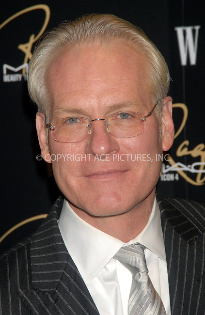 WWW.ACEPIXS.COM . . . . . ....January 17, 2007, New York City.....Tim Gunn attend the MAC Cosmetics celebration to honor Raquel Welch as a Beauty Icon at Gilt the New York Palace Hotel.....Please byline: KRISTIN CALLAHAN - ACEPIXS.COM.. . . . . . ..Ace Pictures, Inc:  ..(212) 243-8787 or (646) 679 0430..e-mail: picturedesk@acepixs.com..web: http://www.acepixs.com