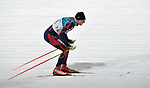 Tariel Zharkymbaev (KGZ). Mens sprint classic qualification. Cross country skiing. Alpensia Croos-Country skiing centre. Pyeongchang2018 winter Olympics. Alpensia. Republic of Korea. 13/02/2018. ~ MANDATORY CREDIT Garry Bowden/SIPPA - NO UNAUTHORISED USE - +44 7837 394578