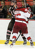 Jake Goldberg (Brown - 7), Greg Gozzo (Harvard - 17) - The Harvard University Crimson defeated the visiting Brown University Bears 3-2 on Friday, November 2, 2012, at the Bright Hockey Center in Boston, Massachusetts.