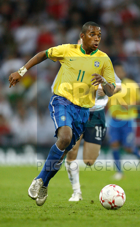 Brazil's Robinho..International Friendly..England v Brazil..1st June, 2007..--------------------..Sportimage +44 7980659747..admin@sportimage.co.uk..http://www.sportimage.co.uk/
