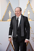 Oscar&reg; nominee for Best Original Score, Hans Zimmer arrives on the red carpet of The 90th Oscars&reg; at the Dolby&reg; Theatre in Hollywood, CA on Sunday, March 4, 2018.<br /> *Editorial Use Only*<br /> CAP/PLF/AMPAS<br /> Supplied by Capital Pictures