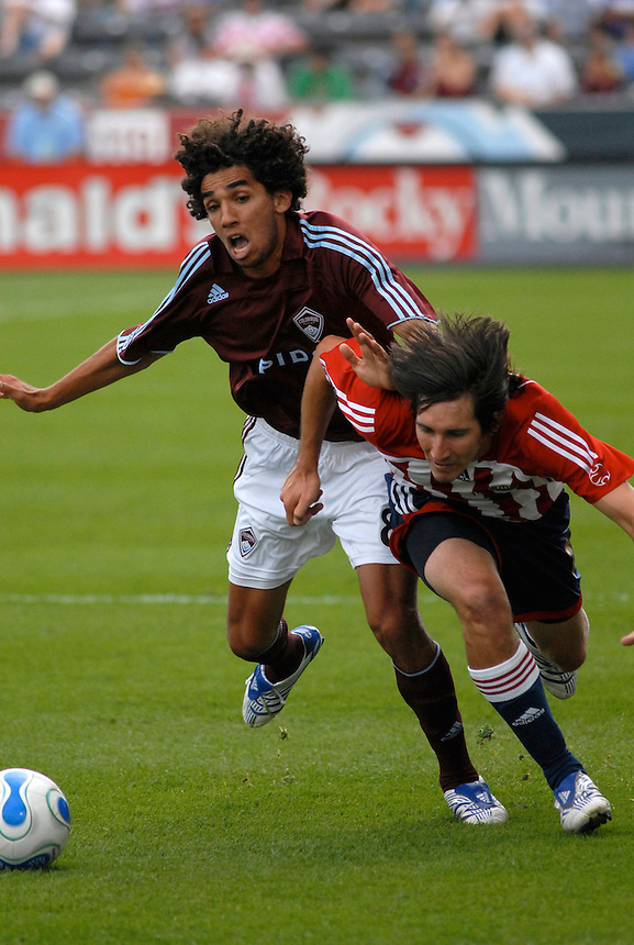 Colorado Rapids and Chivas USA Major League Soccer action in 2007.