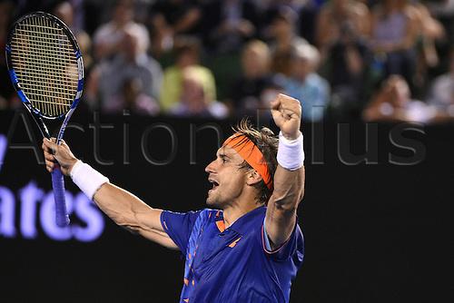 22.01.2016. Melbourne Park, Melbourne, Australia, Australian Open Tennis Championships.  David Ferrer (ESP)