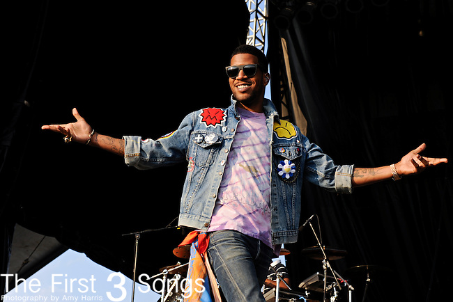 Kid Cudi performs during day two of the Dave Matthews Band Caravan at Lakeside on July 9, 2011 in Chicago, Illinois.