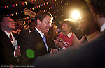 Senator John Edwards greets supporters on the presidential campaign trail in Duluth Minnesota.