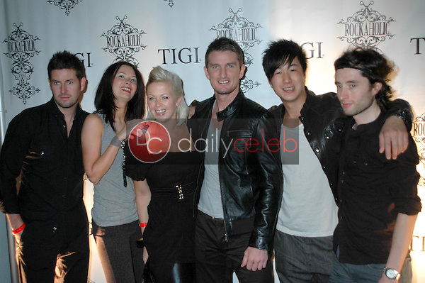 Tigi Team<br />at the Rockaholic Release Party. V20 the Venue, Long Beach, CA. 02-01-09<br />Dave Edwards/DailyCeleb.com 818-249-4998