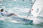 UruguayLaser RadialMenHelmURUIR1IgnacioRodriguez<br /> Day3, 2015 Youth Sailing World Championships,<br /> Langkawi, Malaysia