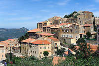 Barockkirche Santa Croce in Speluncato, Korsika, Frankreich